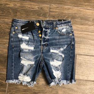 Fashion Nova denim shorts